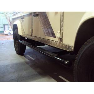Estribos para Land Rover Defender