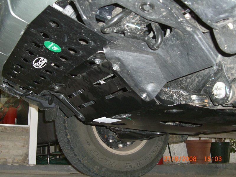 Cubre carter para Toyota Hilux / Vigo - All Power ...