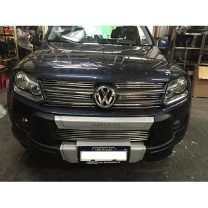 Careta Completa Retro Volkswagen Amarok Acero Inoxidable
