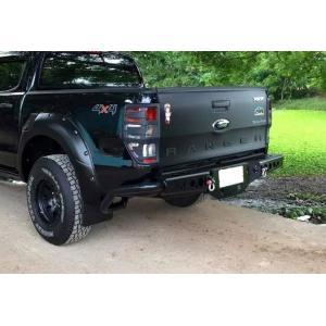 Paragolpes Trasero Off Road Negro Ford Ranger 2012+