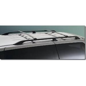 Barras De Techo Transversales Aluminio Negro Para Barra Longitudinal Honda Odyssey 2005-2010