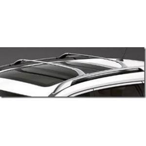 Barras de techo transversales toda aluminio natural para - Barras de aluminio huecas ...
