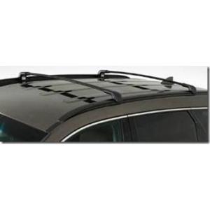 Barras De Techo Transversales Aluminio Negro Calce Interior Hyundai Santa Fe 2013+