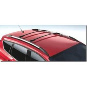 Barras De Techo Transversales Aluminio Negro Para Vehículos Con Guía Ford Escape 2013+