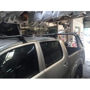 Barras De Techo Aluminio Con Calce Original Toyota Hilux