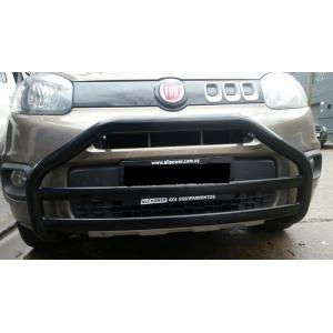 Defensa Negra Fiat Uno Way