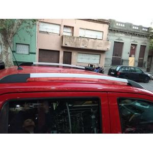 BARRAS DE TECHO LONGITUDINALES EN ALUMINIO PARA NISSAN FRONTIER NP300