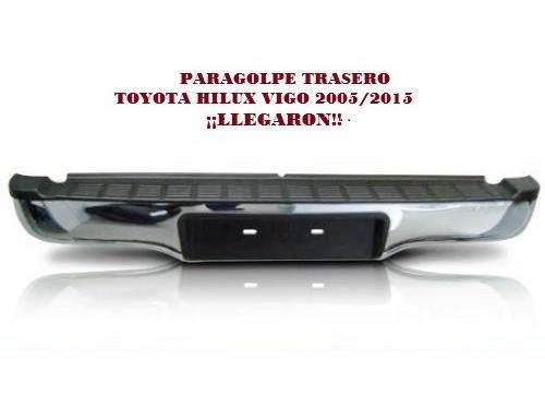PARAGOLPE TRASERO TOYOTA HILUX VIGO 2005/2015